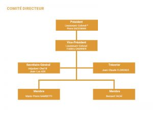 Organigramme des membres comité Directeur CSAG Metz
